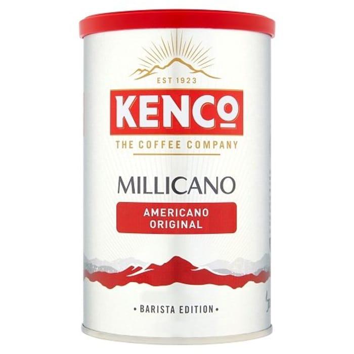 Half Price- Kenco Millicano Americano Instant Coffee 100g