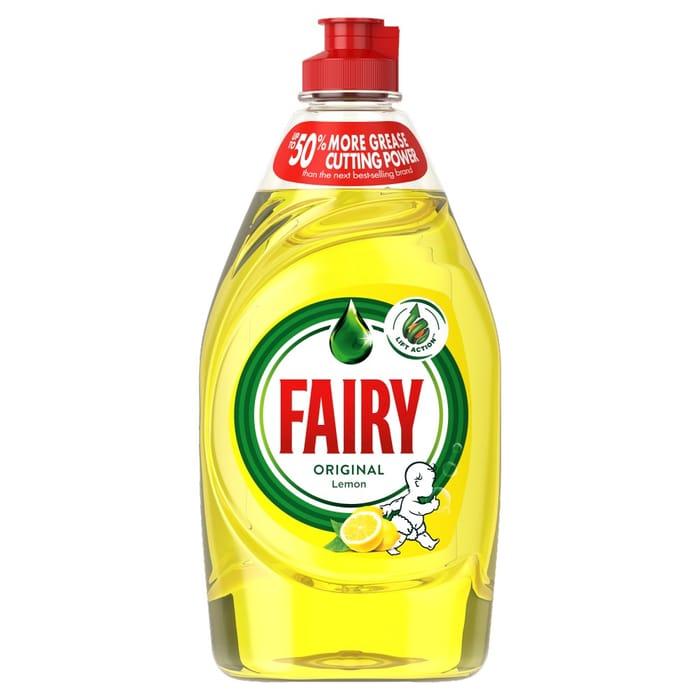 Fairy Washing up Liquid 500ml 2 for £2