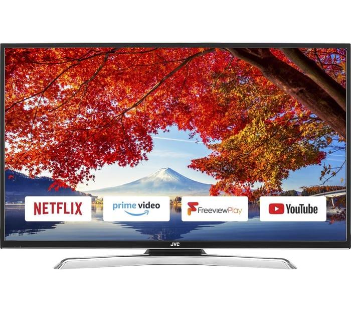 """Cheap JVC LT-39C790 39"""" Smart LED TV Only £199!"""