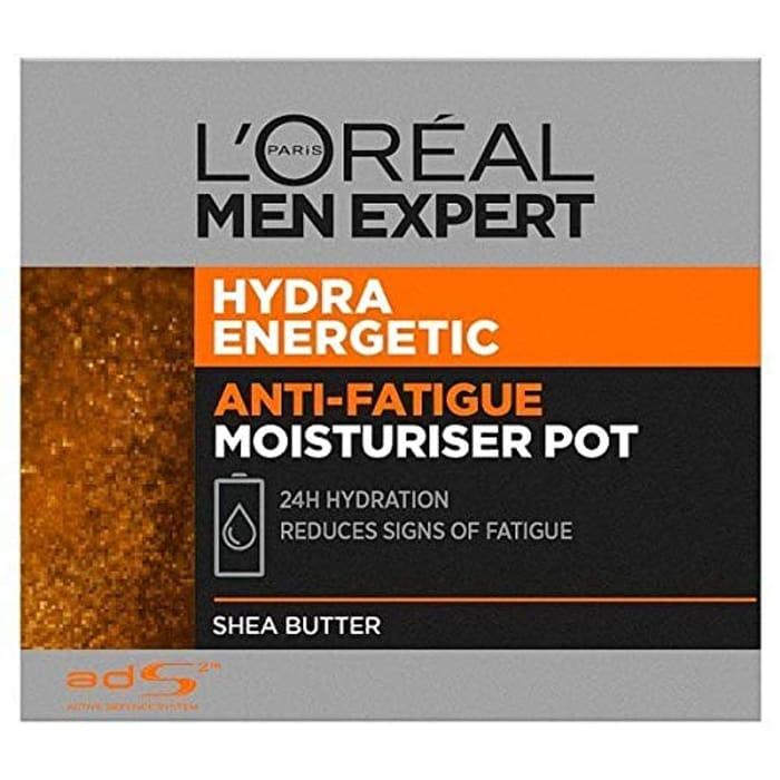 L'Oreal Men Expert Hydra Energetic Anti-Fatigue Moisturiser Pot, 50ml