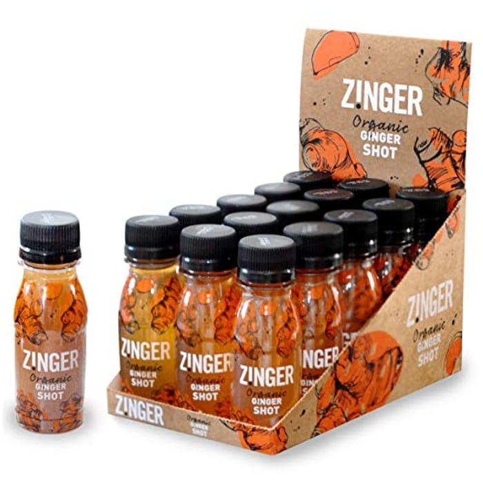 James White Organic Ginger Zinger 70 Ml (Pack of 15)