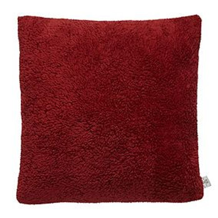 Teddy Bear Cushion- Red