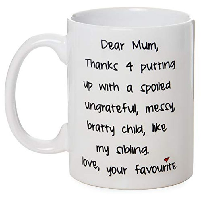 Cheap Dear Mum Humorous Mug on Sale From £4.44 to £2.99