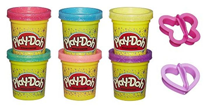 Cheap Play-Doh Sparkle Compound Collection - Save £10.56