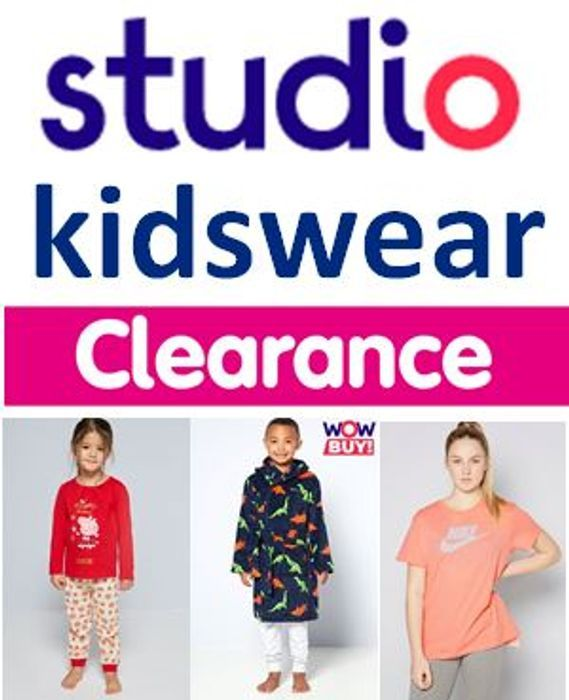 Kids Clothing Clearance - HALF PRICE Kids Clothes in the STUDIO CLEARANCE