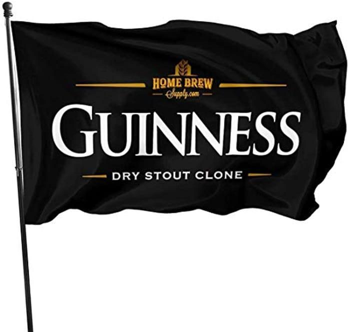 CHEAP! Guinness Beer Logo Garden Flag - Save £12