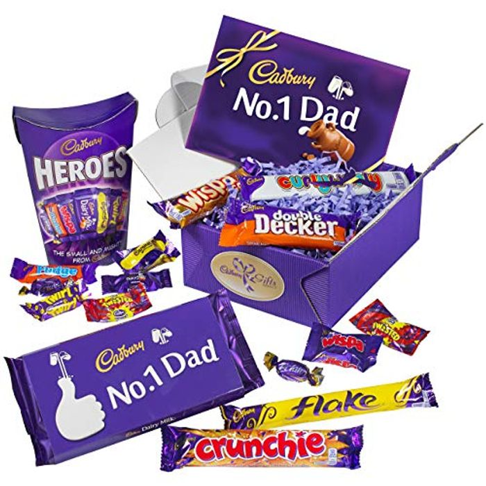 Cadbury Chocolate Dad's Gift for Father's Day at Amazon