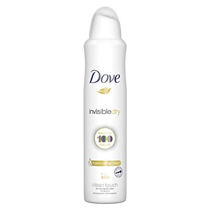 Pantry Deal: Dove Invisible Dry 48h Anti-Perspirant Deodorant, 250ml