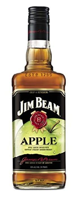 Jim Beam Apple Bourbon Whiskey Liqueur, 70cl