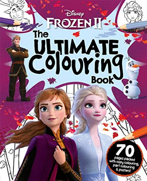 Cheap Disney Frozen 2 the Ultimate Colouring Book Paperback Only £2