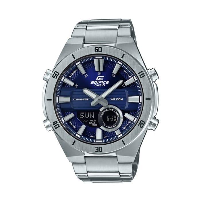 Casio Edifice Men's Silver Stainless Steel Bracelet Watch