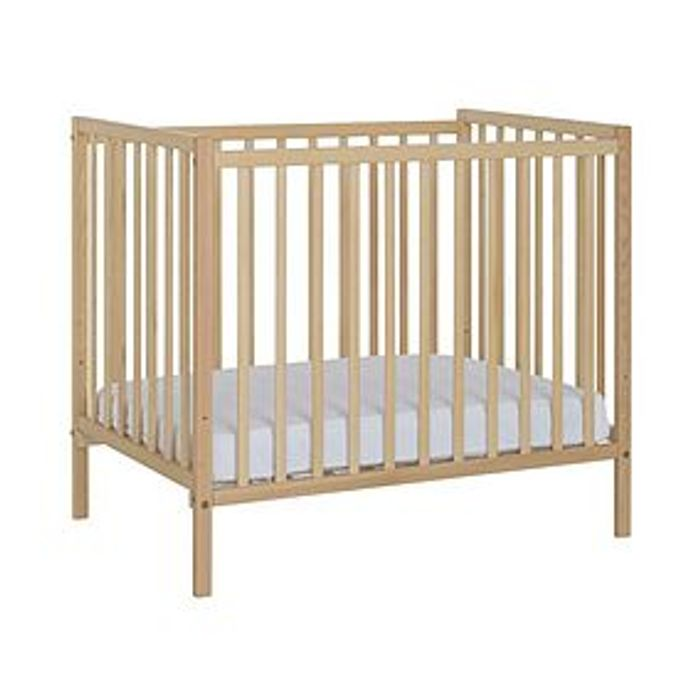 Compact Natural Cot from Dunelm