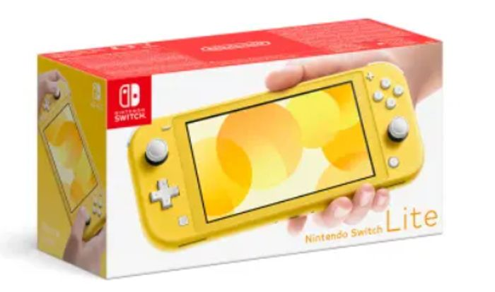 NINTENDO SWITCH LITE - YELLOW Only £199.99