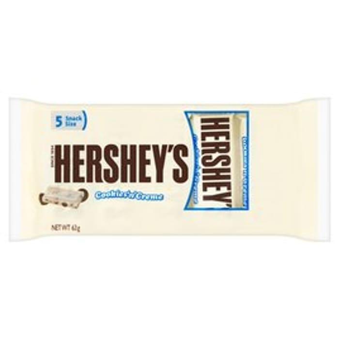 Hershey's Cookies 'N' Creme 5 Snack Size 63g