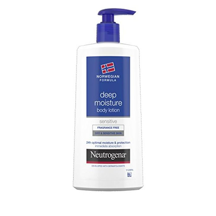 Neutrogena Norwegian Formula Deep Moisture Body Lotion Dry Sensitive Skin 400ml