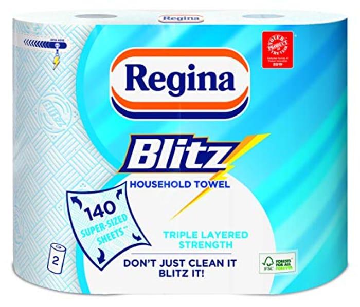 2 X Regina Blitz Original Kitchen Rolls (Amazon Pantry)