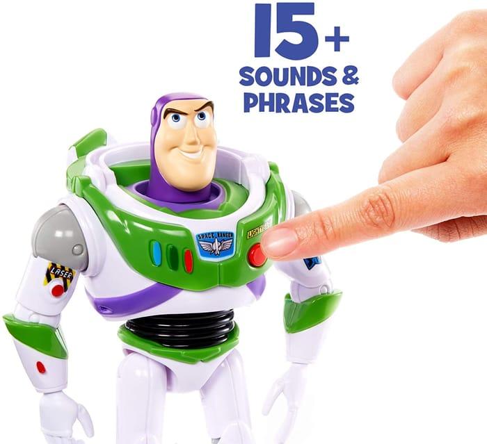 Disney Pixar Toy Story 4 True Talkers Buzz Lightyear