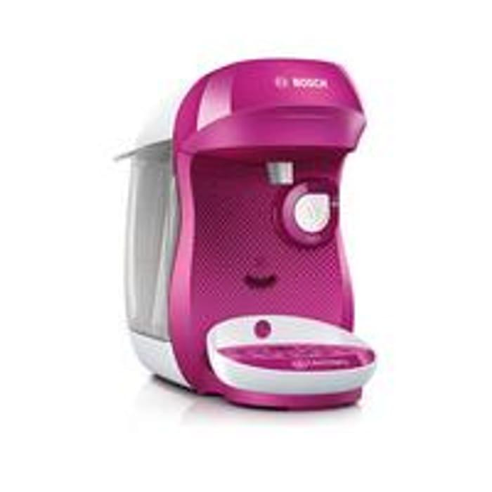Tassimo TAS1001GB Happy Pod Coffee Machine - Pink