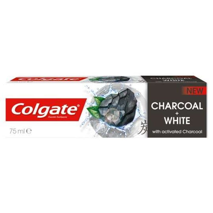 Cheap Colgate Natural Extracts Charcoal plus White Toothpaste 75Ml at Tesco