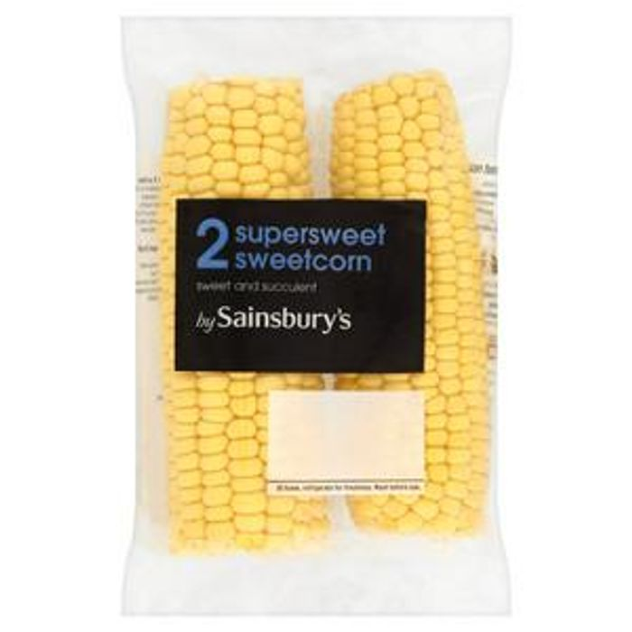 Sainsbury's Sweetcorn X2 - Only £1!
