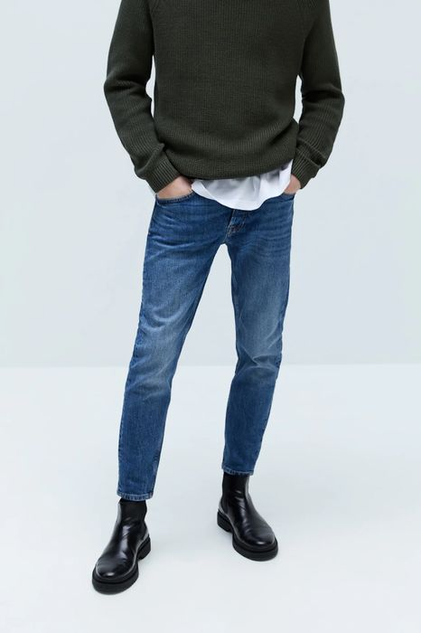 Zara Mens FADED SKINNY JEANS - Only £15.99!