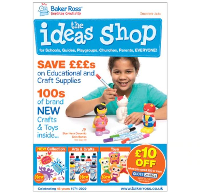 Free Baker Ross Summer Catalogue
