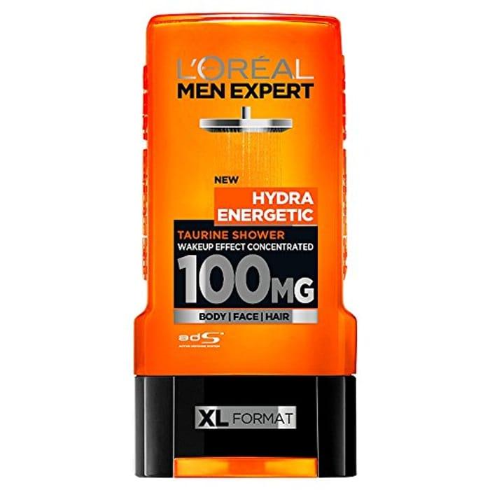 Half Price- L'Oreal Men Expert Hydra Energetic Shower Gel, 300ml