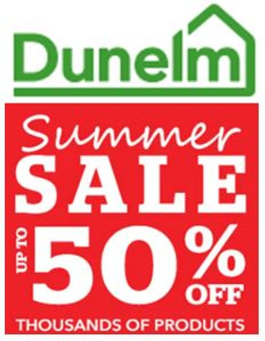Special Offer - Dunelm Sale - up to 50% OFF Dunelm