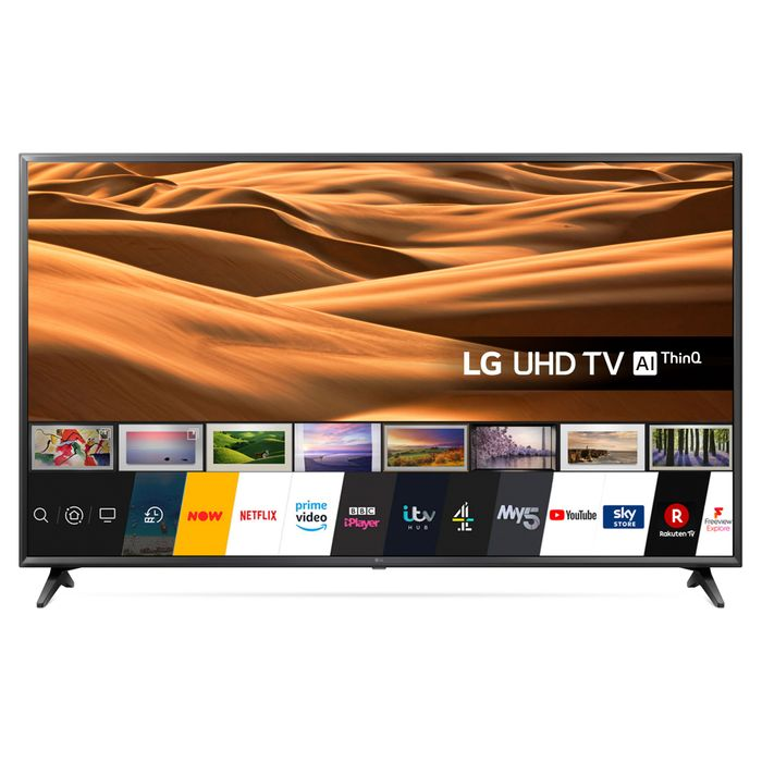 """*SAVE £70* LG 65"""" 4K Ultra HD Smart LED TV £559 with Code"""