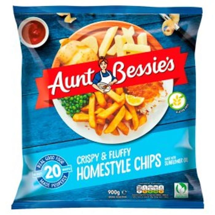 Aunt Bessie's Crispy Homestyle Chips 900g