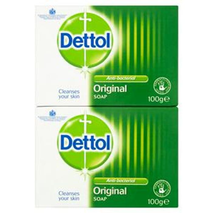 Dettol Antibacterial Soap Bar 22%off at Sainsbury's