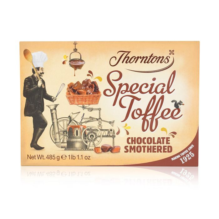 Chocolate Smothered Special Toffee Box (485g)