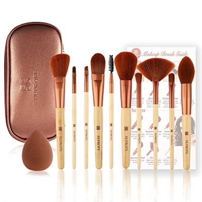 10Pcs Make up Brushes-Promotion Add 1 Free.