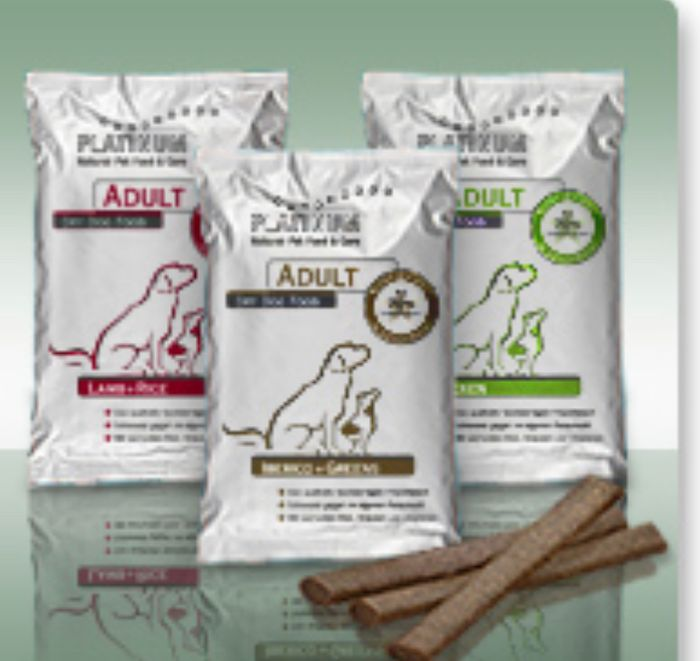Free Platinum Dog Food Sample.