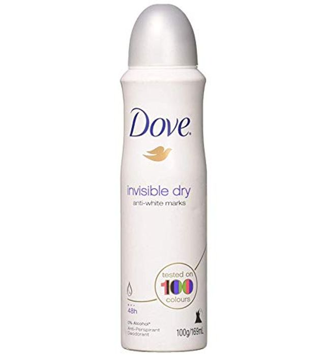 Dove Spray Invisible for £1 Only