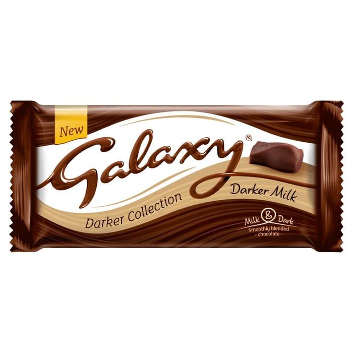 Galaxy Darker Collection Darker Milk Chocolate Bar 110g