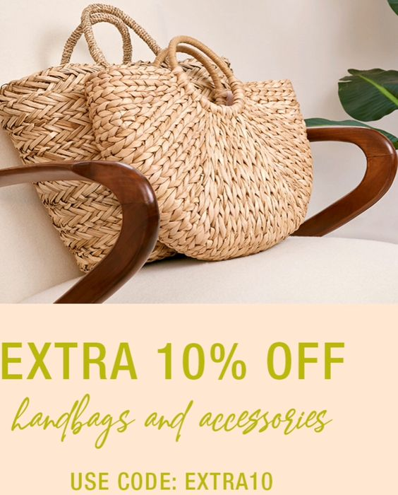 Extra 10% off Sale Handbags & Accessories