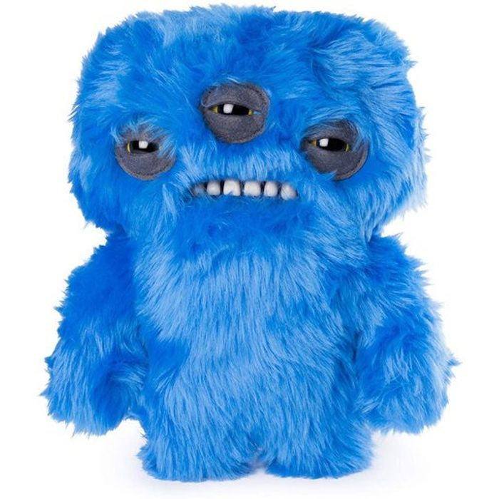 Fuggler 22cm Funny Ugly Monster - Annoyed Alien (Furry Blue)