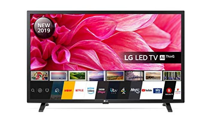 LG 32-Inch HD Ready Smart LED TV with Freeview Play - Ceramic Black Colour