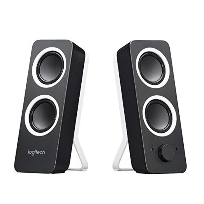Logitech Z200 PC Speakers, Stereo Sound