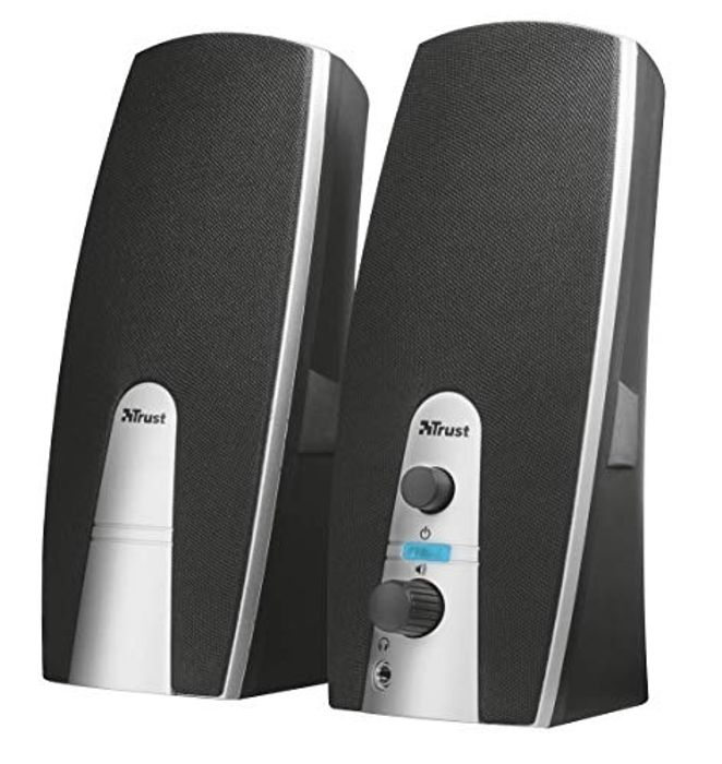 Trust 16697-04 Mila 2.0 USB Powered PC Speakers for Computer and Laptop