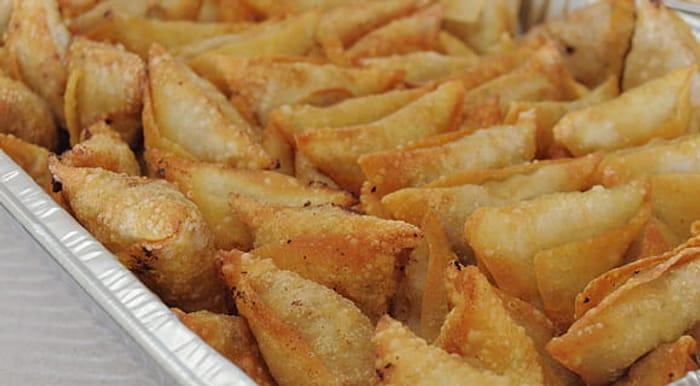 450g Pack of Frozen Xsell Vegetable Samosas at Heron in Prescot
