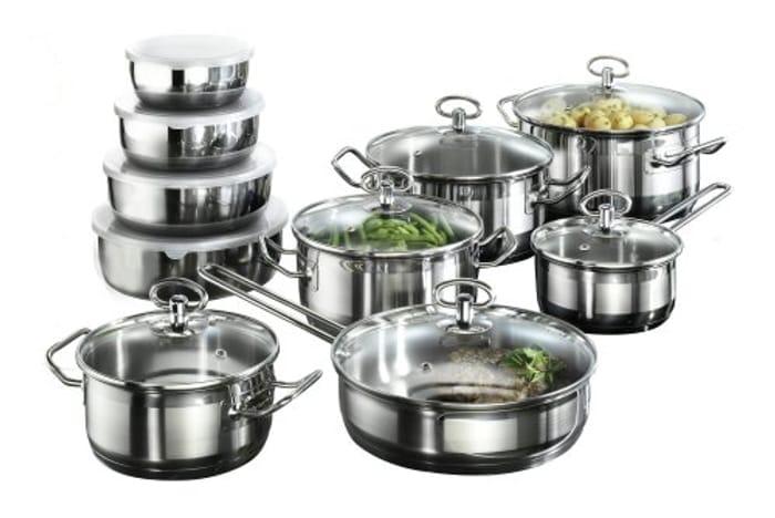 Karcher 121008 Jasmin Cookware Set (20-Pieces)