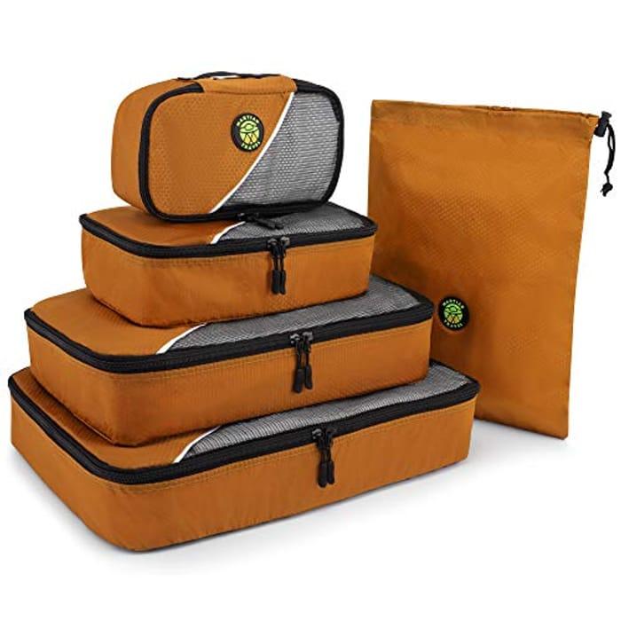Orange Storage Bags 5 Piece