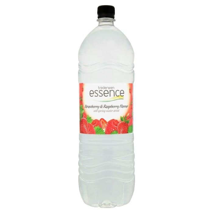 Cheap Trederwen Essence Strawberry & Raspberry Flavoured Still Spring Water 2LX3