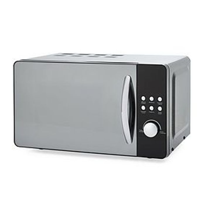 *SAVE £17* Dunelm Bling 20L 700W Black Microwave