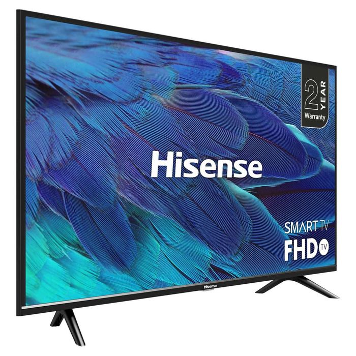 """*SAVE £30* Hisense 40"""" FHD LED Smart TV - Freeview Play £219 with Code"""