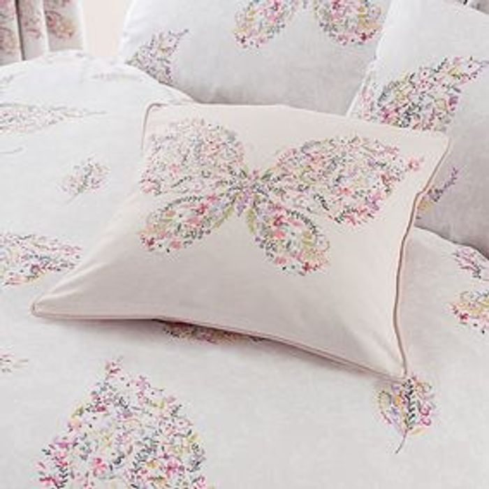 Floral Butterfly Cushion