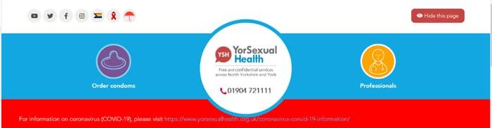 Free Condoms - York & North Yorkshire
