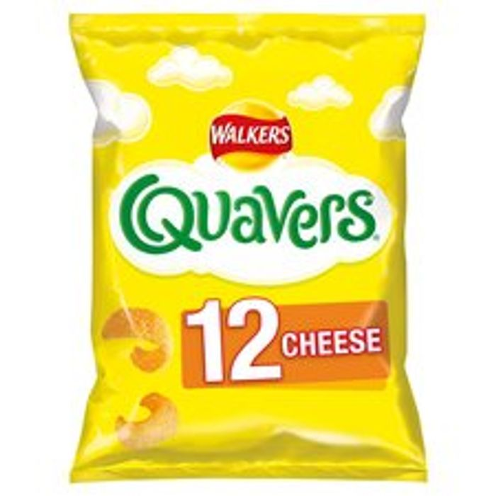 Walkers Quavers Cheese 12X16g